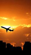 Plane Silhouet...