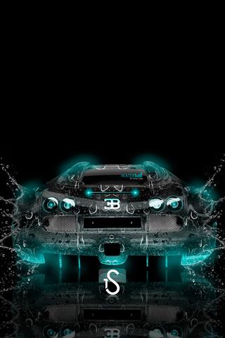 Bugatti Veyron Water