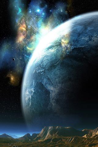 Planet Closeup