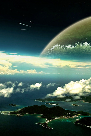 Outside the Planet