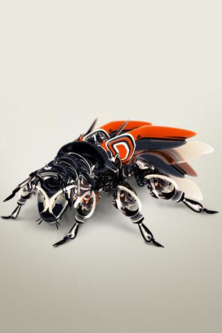 Mechanical Bug iPhone Wallpaper