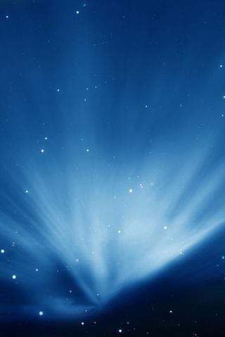 Sky Blue Aurora